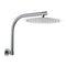 300 Mm Round Chrome Super Slim Shower Head 180 Degree Shower Arm Set