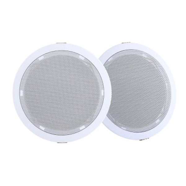 2X 6 Inch In Ceiling Speakers 80W Theatre Stereo Outdoor Multi Room