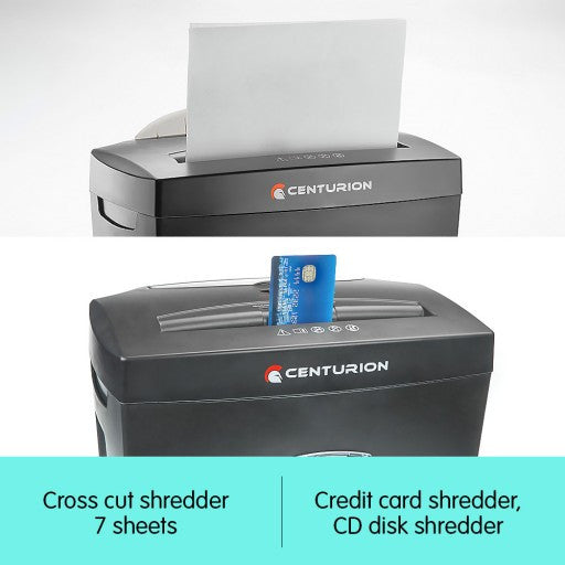 Centurion 7 Sheet Cross Cut Shredder
