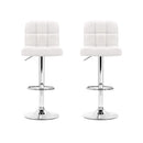 2 x PU Leather Bar Stool