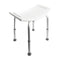 Medical Shower Chair Soft Pad Adjustable Height Bath Tub Bench Stool Seat Au Hot