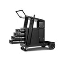 Welding Trolley 4 Drawer Black