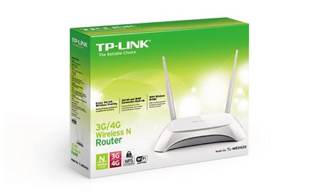 TL-MR3420 300Mbps Wireless N 3G / 4G Router