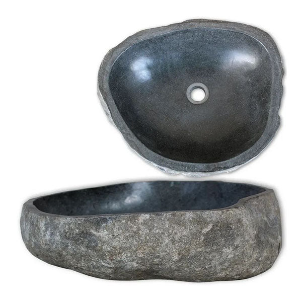 Basin River Stone Oval 30 To 37 Cm