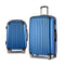 2 Pcs Carry On Luggage Sets Suitcase Travel Hard Case Lightweight