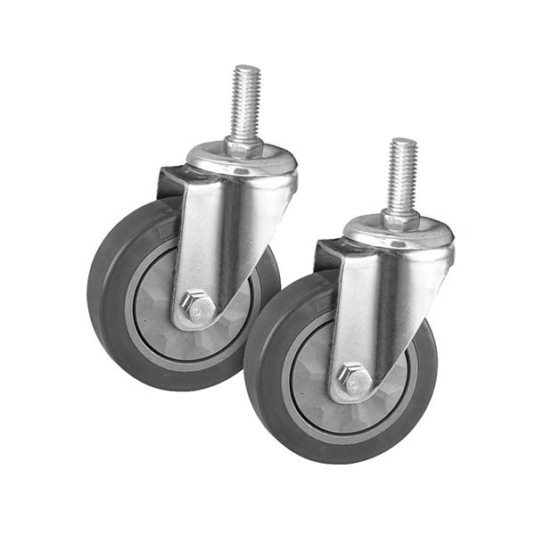 Soga 2 X 4 In Heavy Duty Polyurethane Swivel Castor Wheels