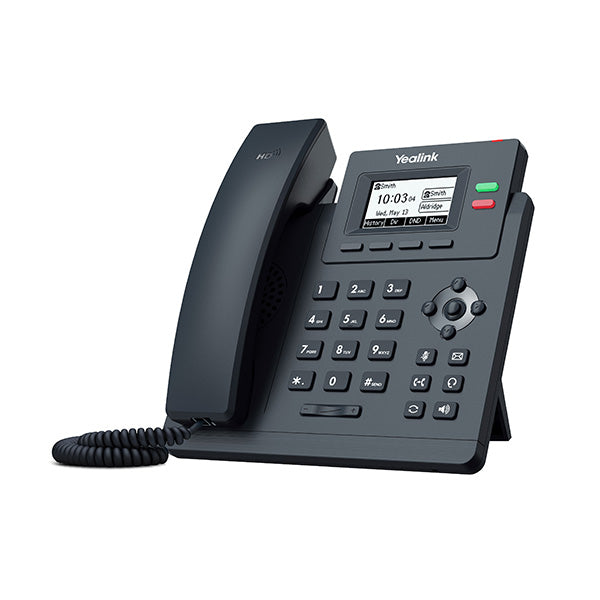 Yealink Gigabit Ip Phone With 2 Lines And Hd Voice