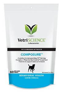 Composure for Medium and Large Dogs 60 count