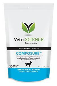 Composure for Small Dogs-Bite Sized Chews 30 count