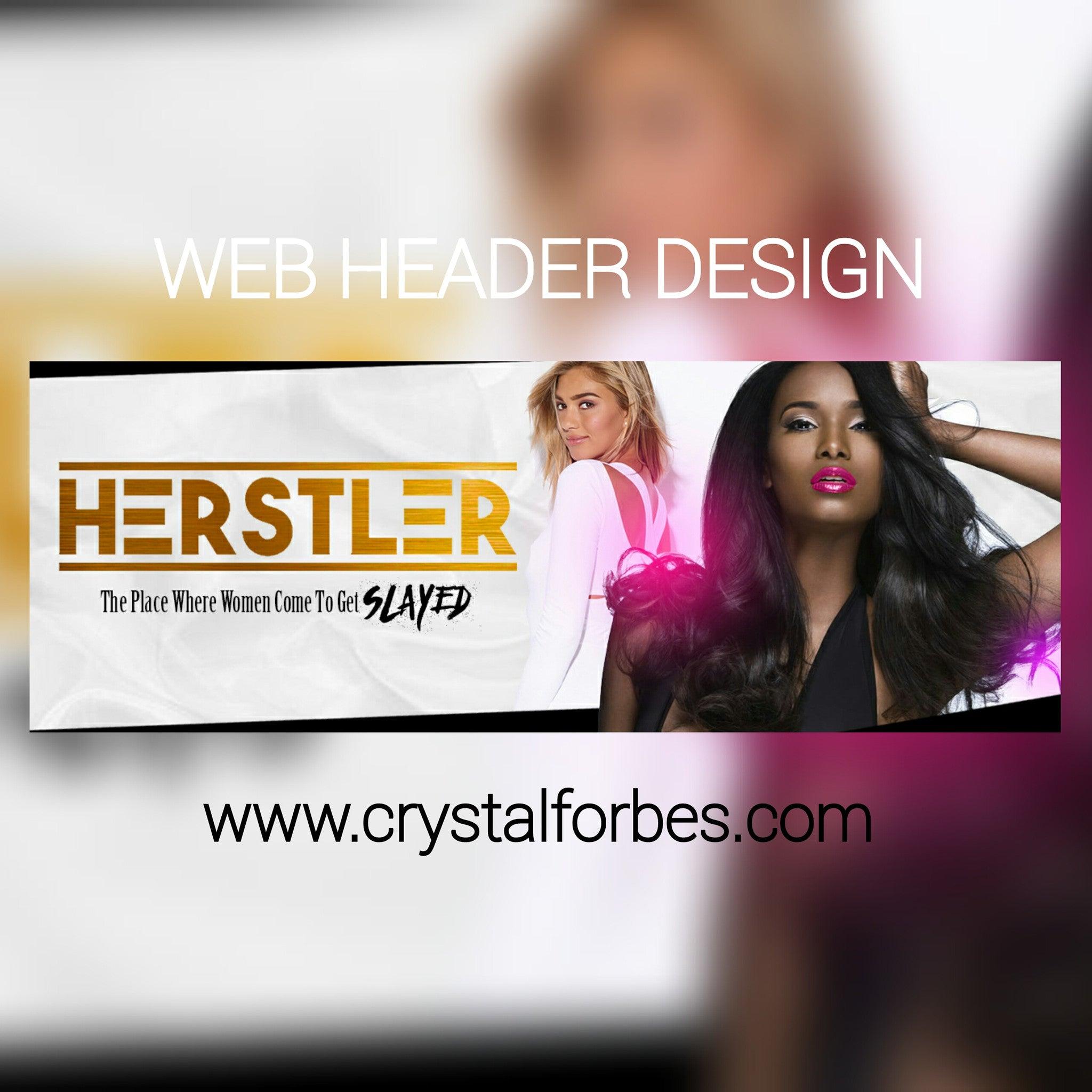 Web Header Design