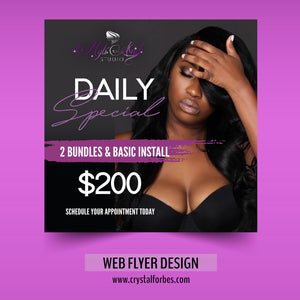 Web Flyer Design