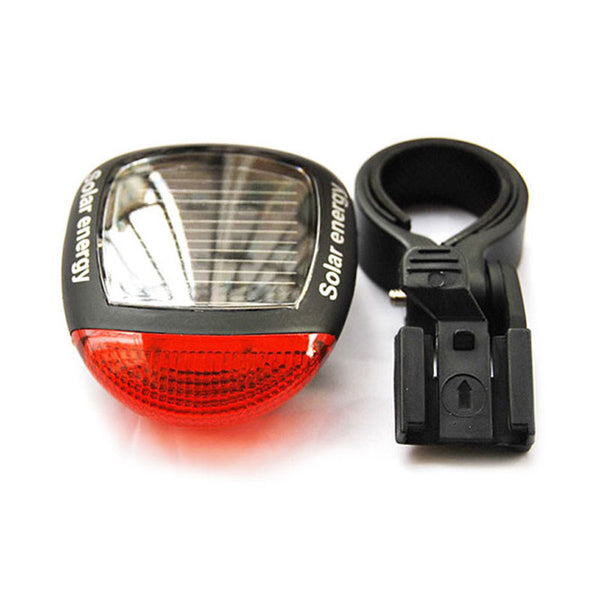 Solar Power LED Flashing Bicycle Light For  Rear Tail Lamp - Blackwater River Emporium - 4