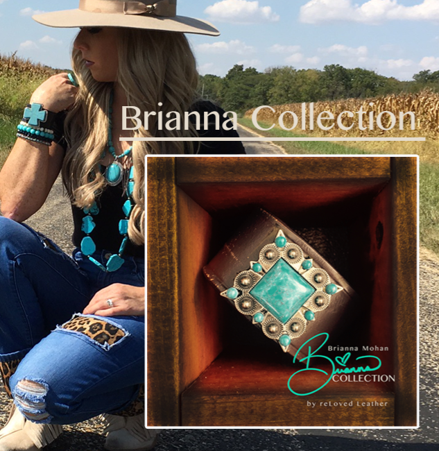 Collection Reveal - Monster Jam Driver - Brianna Mahon collaborates with reLoved Leather for a One Of A Kind Designer Cuff