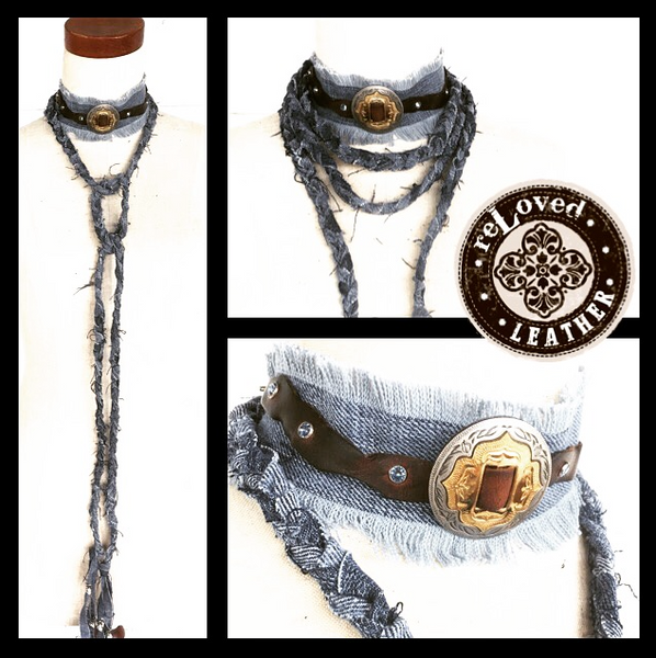 Carpe Denim XL Choker Wrap - Various Styles