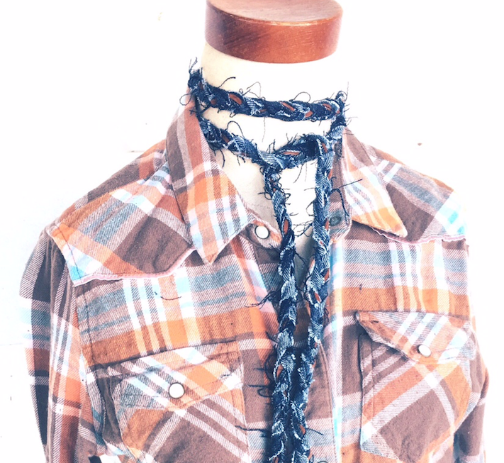 Carpe Denim LASSO XL Choker Wrap
