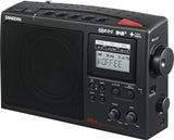 Sangean DPR-45 Radio AM/FM DAB+ Portable Black