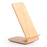 Timber Look Wireless Charging Stand