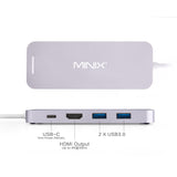 Minix Neo S2 USB-C Multiport SSD Storage Hub