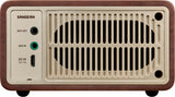 WR-7 FM / Bluetooth / Aux-in Compact Wooden Cabinet Radio
