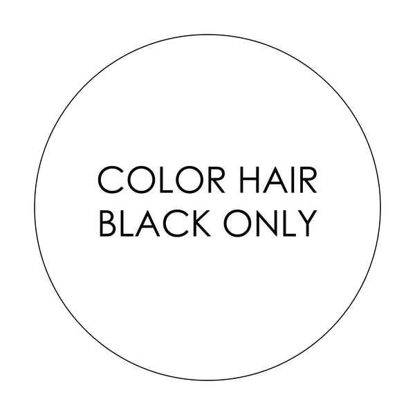 ADD ON COLOR HAIR BLACK