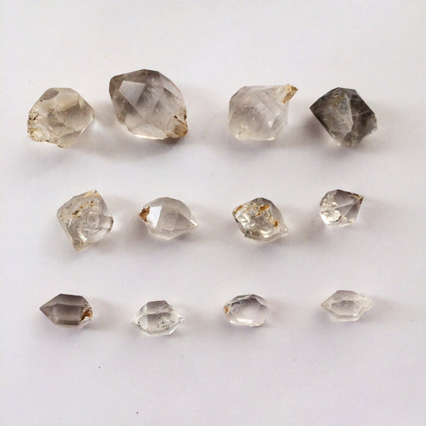 Custom made Herkimer Diamond rings? Taking your orders now!