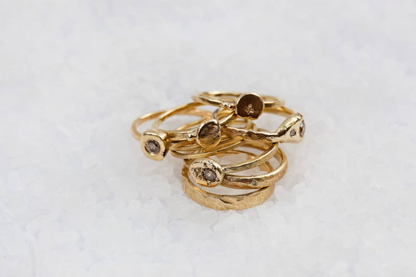 Simplify - Gold Ring