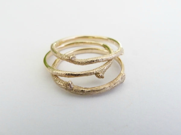 The Botanist Ring - 9ct Yellow Gold