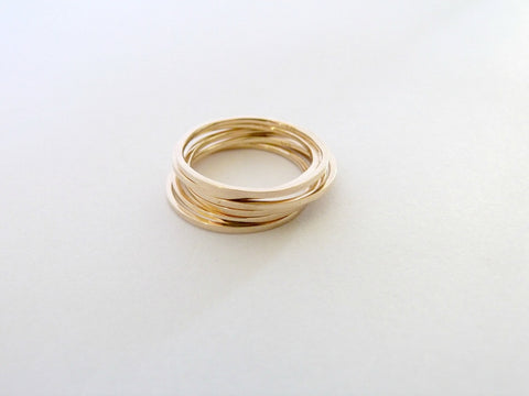 Elsa Ring - 9ct Yellow Gold
