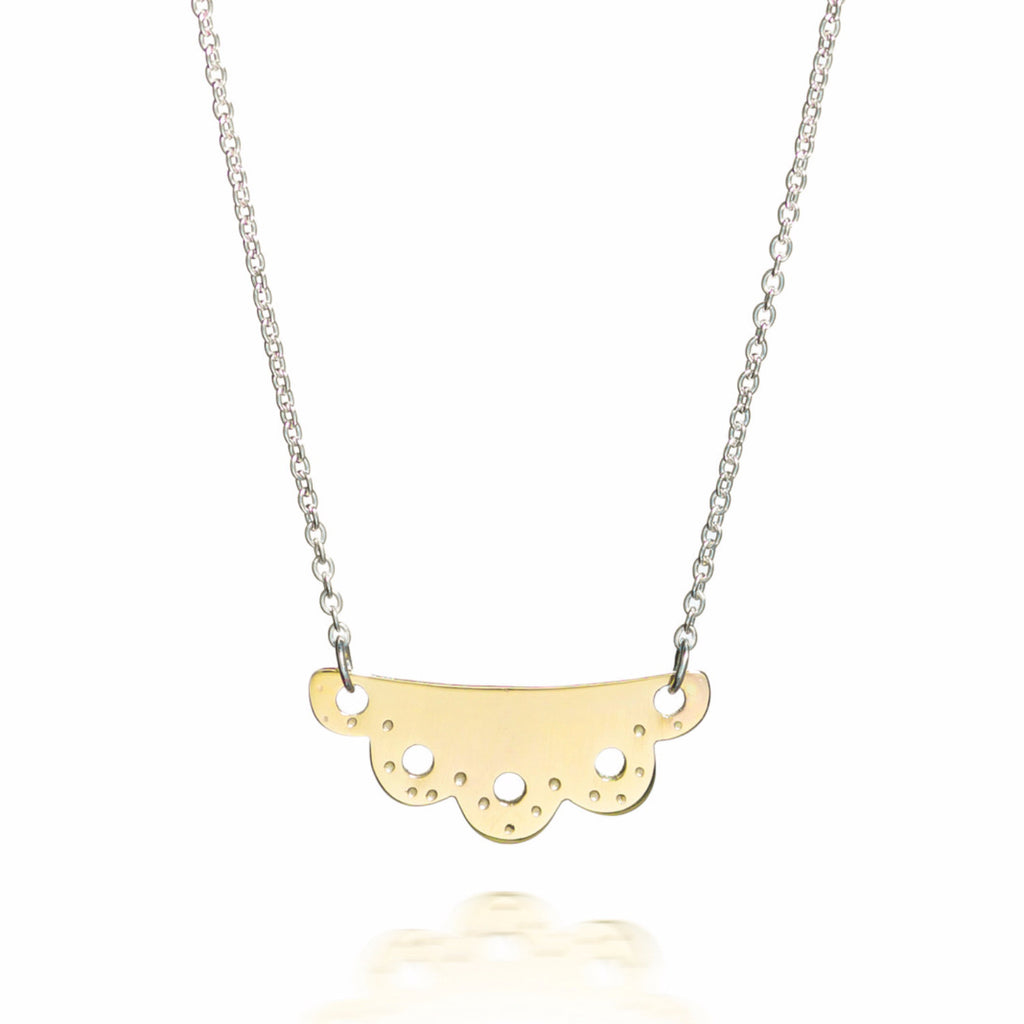 Beryl Necklace - 9ct Rose Gold