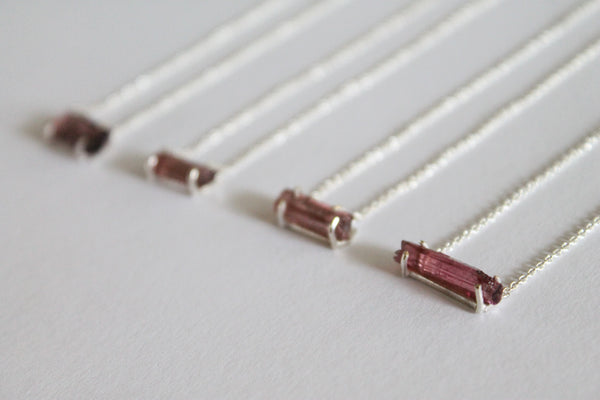 Charlotte - Tourmaline Necklaces
