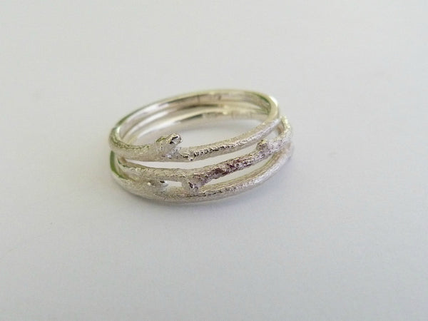 The Botanist Ring - Silver