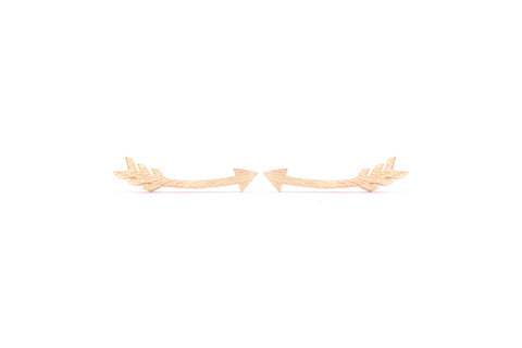 Arrow Earring Climber Gold