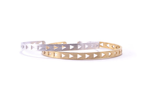Triangle Cutout Bracelet