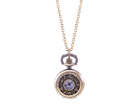 Filigree Watch Necklace