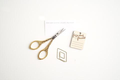 Art Deco Craft Scissors