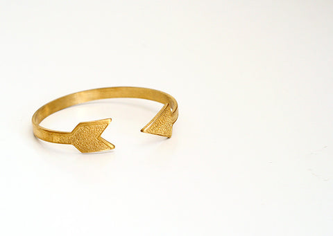 Arrow Brass Cuff