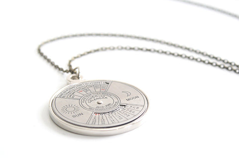 Calendar Necklace