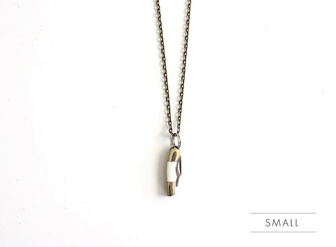 Pocket Knife Necklace