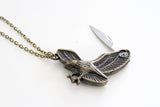 Eagle Knife Necklace