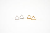 Triangle Earring Studs