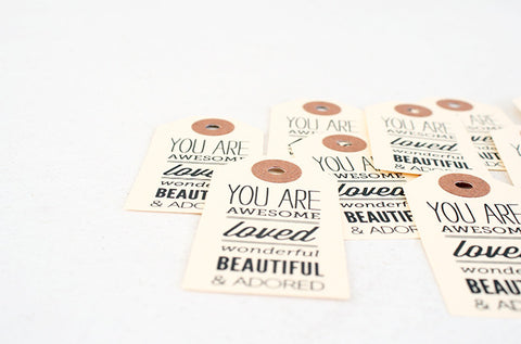 You Are Paper Gift Tag Pack