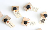 For You Ribbon Rubber Stamp