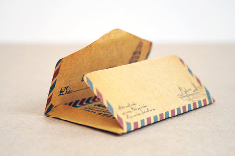 Air Mail Envelope Memo Pad