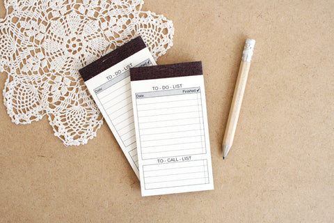 To-do memo pad