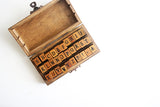 Alphabet Rubber Stamp Kit