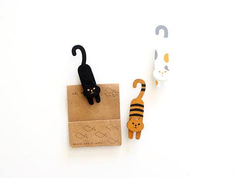 Cat Clips, Set of 3