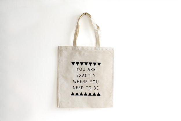 Exactly Tote Bag