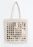 Wonderful Gold Foil Tote Bag