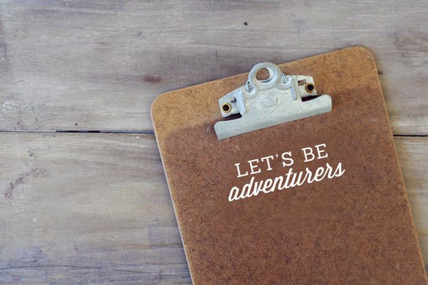 Let's be Adventurers Decal