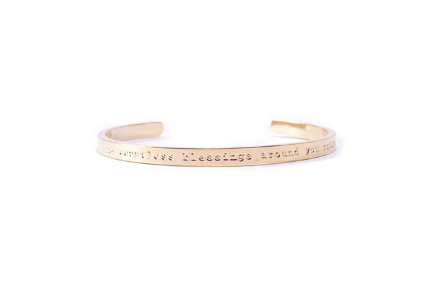 Blessings Bracelet Gold